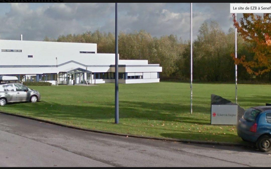 Cession du site nucléaire EZB à Seneffe pour 1€ symbolique : un dossier sous haute surveillance chez Ecolo