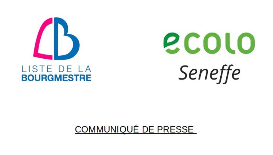 Communiqué de presse – odeurs de gaz sur l'entité de Seneffe